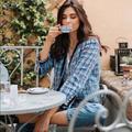 Zara Jackets & Coats | Last Size L- Nwt Zara Tweed Jacket | Color: Blue | Size: Various
