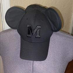 Disney Accessories   Hat Minnie Mouse Disney   Color: Black   Size: Os