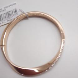 Kate Spade Jewelry   Kate Spade New Rose Gold Rhinestone Bracelet   Color: Gold   Size: 2-14 X 14