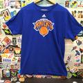 Adidas Shirts | Adidas New York Knicks Shirt | Color: Blue/Orange | Size: L