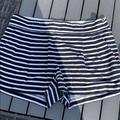 J. Crew Shorts | J Crew Shorts . Navy And White Cotton. Size 6 | Color: Blue/White | Size: 6