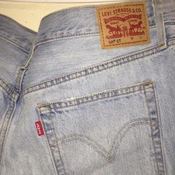Levi's Jeans   Levis Light Blue Distressed Ripped Jeans (Men)   Color: Blue   Size: 30