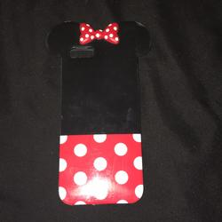 Disney Other   Iphone Case   Color: Black/Red   Size: Os