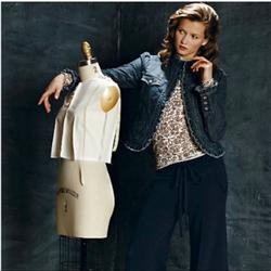 Anthropologie Jackets & Coats | Anthro Idra Ruffle-Trim Denim Jacket | Color: Blue | Size: 2