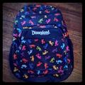 Disney Accessories   Disney Disneyland Resort Rainbow Mickey Backpack   Color: Black/Red   Size: Approx 12.5 X 18.5 X 5.5 In