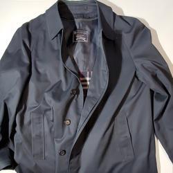 Burberry Jackets & Coats | Burberry Trench Coat Car Coat Men'S 44 Long | Color: Blue | Size: 44 Long