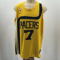 Nike Shirts | Nike Sports Pacers O'Neal 7 Jersey Basketball Shir | Color: Yellow | Size: Xxl