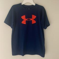 Under Armour Shirts & Tops | Boys Youth L Under Armour Short Sleeve Dri-Fit Tee | Color: Blue | Size: Boys Youth Large