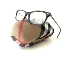 Burberry Accessories   New Burberry Frames Dark Tortoise Acetate Mens   Color: Brown   Size: 53-17-145