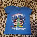 Disney Shirts & Tops | Nwt Disney Kids Sm San Francisco Holiday Shirt | Color: Blue | Size: Sg