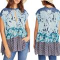 Free People Tops | Free People Gotta Have You Tunic. S, M | Color: Blue | Size: Various