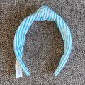 J. Crew Accessories   Nwt J.Crew Striped Metallic Shimmer Headband   Color: Blue/White   Size: Os