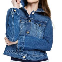 Michael Kors Jackets & Coats | Michael Kors Women'S Blue Denim Jean Jacket | Color: Blue | Size: M