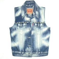 Levi's Jackets & Coats | Levis Levi Strauss Denim Jean Vest Punk Rock Stud | Color: Blue | Size: Xs