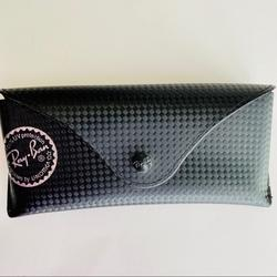 Ray-Ban Accessories | Ray-Ban Luxottica Black Sunglasses Case Rayban | Color: Black/Silver | Size: Os
