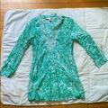 Lilly Pulitzer Swim | Lilly Pulitzer Coverup | Color: Blue/Green | Size: M