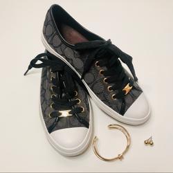 Coach Shoes | Coach Casual Sneaker | Color: Black | Size: 6