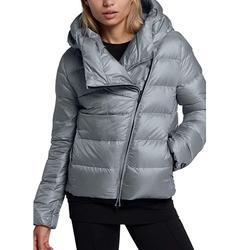 Nike Jackets & Coats | Nike Women'S Sportswear Puffer Down Jacket | Color: Black/Silver | Size: S