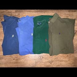 Polo By Ralph Lauren Shirts   Polo Ralph Lauren Shirt Bundle ( 4 Shirts) Xl B2   Color: Blue   Size: Xl