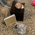 Michael Kors Accessories | Like New Condition Tortoise Shell Michael Kors | Color: Brown/Gold | Size: Os
