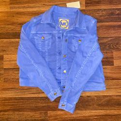 Michael Kors Jackets & Coats | Michael Kors Jean Jacket | Color: Blue | Size: Xl