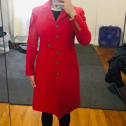 J. Crew Jackets & Coats   Jcrew Red Coat   Color: Red   Size: 0p