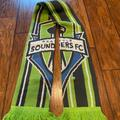 Adidas Accessories | Nwot Adidas Seattle Sounders Fc Soccer Scarf | Color: Blue/Green | Size: Os
