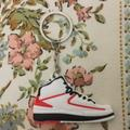 Nike Accessories   Nike Jordan 2 Retro 2d Shoe Keychain Nwot   Color: Red/White   Size: Keychain