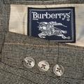Burberry Suits & Blazers | 42r Burberry 100% Silk Plaid Hopsack Tan Coat | Color: Orange/Red/Tan | Size: 42r