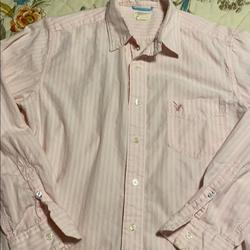 American Eagle Outfitters Shirts | Mens S American Eagle Outfitters Button Shirt | Color: Pink | Size: S