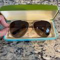 Kate Spade Accessories | Brand New Never Used Kate Spade Sunglasses | Color: Brown/Gold | Size: Os