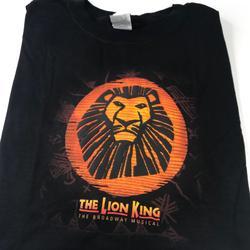 Disney Shirts | Lion King Musical T Shirt Black Xl San Francisco | Color: Black | Size: Xl