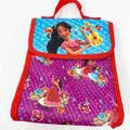 Disney Accessories   Disney Elena Of Avalor Lunchbox Lunch Bag   Color: Purple/Red   Size: Osg
