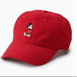 Disney Accessories   Disney Mickey Mouse Hat   Color: Red   Size: Os