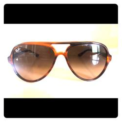 Ray-Ban Accessories   Ray-Bans - Tortoise Brown Gradient   Color: Brown   Size: Os