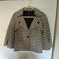 Nine West Jackets & Coats   Checkered Black & White Peacoat   Color: Black/White   Size: 6
