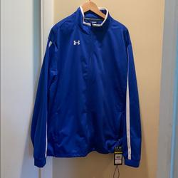 Under Armour Jackets & Coats | Brand New Under Armour Jacket | Color: Blue/White | Size: Xxl