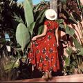 Free People Dresses | Free People All I Got Printed Maxi Dress | Color: Red | Size: 0