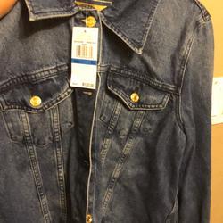 Michael Kors Jackets & Coats   Michael Kors Jean Jacket   Color: Blue   Size: Xl