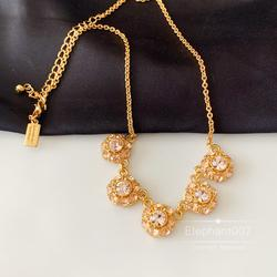 Kate Spade Jewelry   Kate Spade Necklace Rose Gold Flower Necklace   Color: Gold   Size: Os