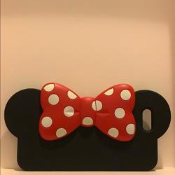 Disney Accessories   Minnie Mouse Ears I Phone 5 Case   Color: Black/Red   Size: I Phone 5