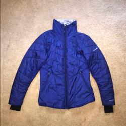 Columbia Jackets & Coats | Columbia Kaleidaslope Ii Jacket | Color: Blue/Silver | Size: Xs