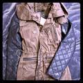 Zara Jackets & Coats   Faux Leather Sleeve Jacket   Color: Black/Green   Size: Xs