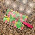 Lilly Pulitzer Other | Nwot Lilly Pulitzer Luggage Tag - Pink And Green | Color: Green/Pink | Size: Os