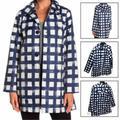Kate Spade Jackets & Coats | Kate Spade Women Casual Wear Long Sleeve Grid Prin | Color: Blue | Size: Xs
