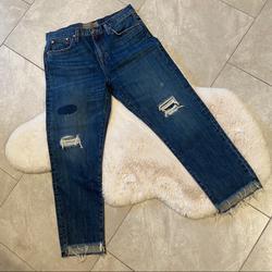 J. Crew Jeans | J Crew Point Sur Denim Shoreditch Distressed Jeans | Color: Blue | Size: 30