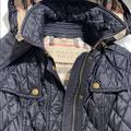 Burberry Jackets & Coats   Burberry Finsbridge Belted Quilted Check Jacket   Color: Black   Size: Xs