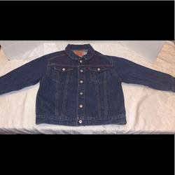Levi's Jackets & Coats   Levis Classic Trucker Denim Jean Jacket Boys 7x   Color: Blue   Size: 7xb