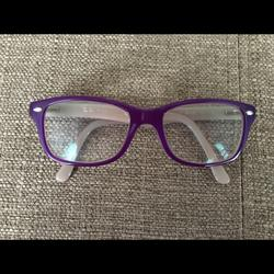 Ray-Ban Accessories | Ray-Ban Eyeglasses & Case | Color: Purple | Size: Osg