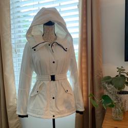 Jessica Simpson Jackets & Coats | Jessica Simpson Winter Jacket | Color: White | Size: S